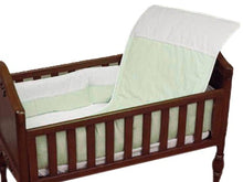 Load image into Gallery viewer, Baby Doll Bedding Kingdom Mini Crib/ Port-A-Crib Bedding Set, Sage