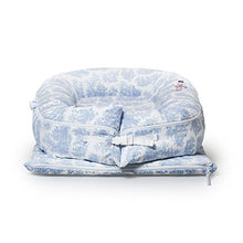 Load image into Gallery viewer, Cover Only (Toile De Jouy Dusty Blue) For Dockatot Grand Dock - Dock Sold Separately - Compatible With All Dockatot Grand Docks
