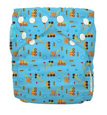 Charlie Banana Reusable Diapering System, One Diaper 2 Inserts, One Size, Under Construction