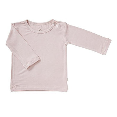 Boody Body Baby Ecowear Long Sleeve Top - Soft Cooling Infant Shirt Made From Natural Organic Bamboo - Soft Breathable Eco Fashion For Sensitive Skin - Rose Pink, 6-12 Months