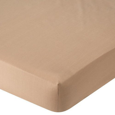 Babies R Us Percale Crib Sheet - Mocha By Babies R Us