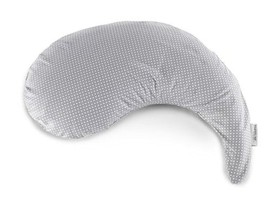 Theraline Yinnie Nursing Pillow, Gray Polka Dots