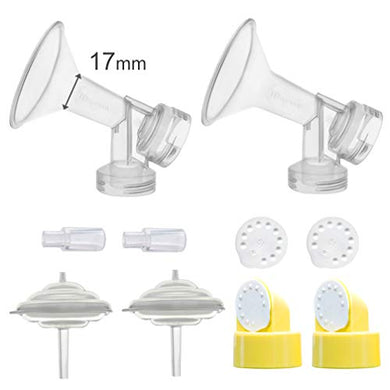 Maymom Breastshields Kit For Medela Freestyle Pumps (17 Mm Flange)
