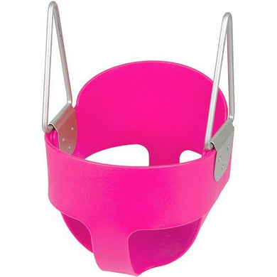 High Back Full Bucket Toddler Infant Swing Seat - Seat Only (Pink) With Sss Logo Sticker
