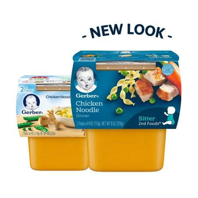 Gerber 2Nd Foods Nutritious Dinners