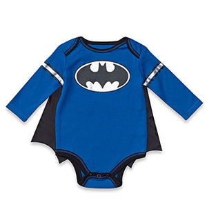 Dc Comics Batman Baby Boys' Bodysuit And Cape Set (0-3 Months)