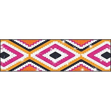 Trend Enterprises Aztec Sparkle Plus Bolder Borders (10 Piece), 2-3/4 X 429/35.75', Orange