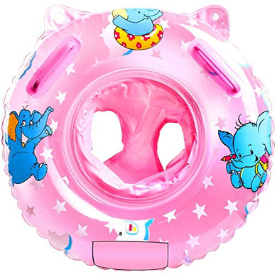 Sealive Baby Swimming Float, Inflatable Swimming Ring With Float Seat For 6-36 Months Children (Pink)