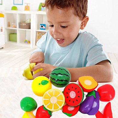 Lookatool 1 Set Cutting Fruit Vegetable Pretend Play Children Kid Educational Toy