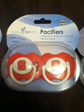 North Carolina State Wolfpack Red Solid  Baby Pacifiers 3 Months And Up