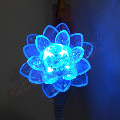 Led Rose Sm505 Night Colorful Light Lamp With Led Powered Technology With On/Off Switch