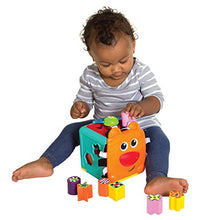 Load image into Gallery viewer, Infantino Bkids Jungle Buddy Shape Sorter