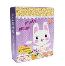 Load image into Gallery viewer, Creative Inset Photo Memory Book/Album Of Baby'S First 5 Years(Purple Rabbit)