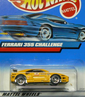 #2000-162 Ferrari 355 Challenge Collectible Collector Car Mattel Hot Wheels 1:64 Scale