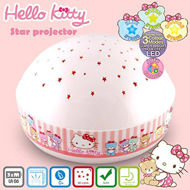Hello Kitty Touch Active, Easy Clean  Twilight Constellation Galaxy Night Light Star Projector By Lumitusi (Hello Kitty)