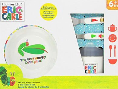 World Of Eric Carle, The Very Hungry Caterpillar Melamine Dish Set
