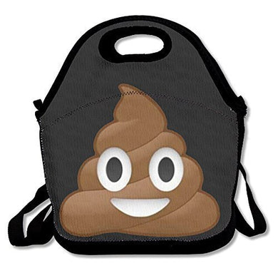 Hot Topics Poop Emoji Lunch Bags Lunch Box Tote Bag With Strap