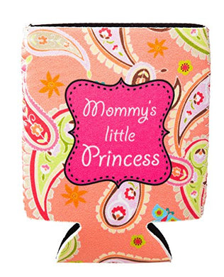 Mom'S Little Princess Paisley Baby Bottle Sleeve