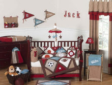 Load image into Gallery viewer, All Star Sports Collection Crib Bumper By Sweet Jojo Designs