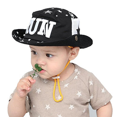 Gongzhumama Baby Boy'S Sun Protection Beach Bucket Hat Upf 50+