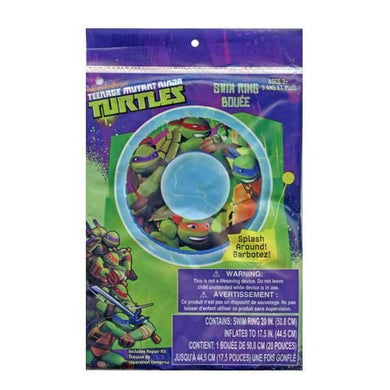 Nickelodeon Teenage Mutant Ninja Turtles Inflatable Floating Tube (3 Tubes)