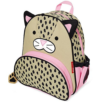 Skip Hop Toddler Backpack, 12  Leopard School Bag, Multi