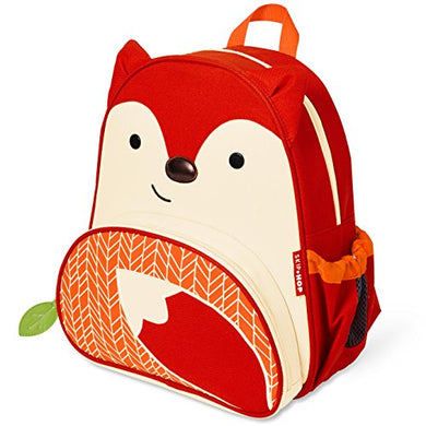 Skip Hop New Fox Toddler Backpack, 12  School Bag, Multi