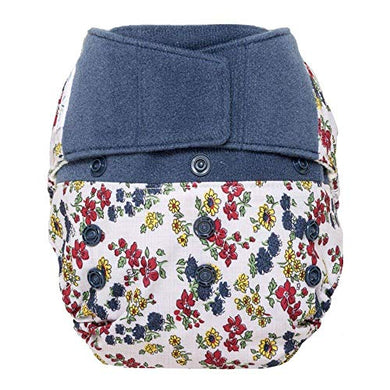 Grovia Reusable Hybrid Baby Cloth Diaper Hook &Amp; Loop Shell (Calico)