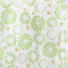 Load image into Gallery viewer, Magnolia Organics Changing Pad Cover - Standard, Circles Lime