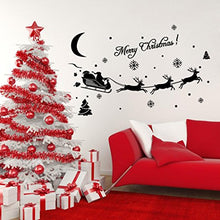 Load image into Gallery viewer, Wall Sticker,Smtsmt Christmas Decoration Decal Window Stickers (Black)