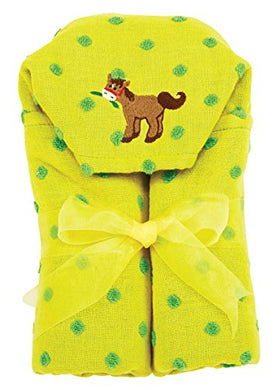 Am Pm Kids! Hooded Towel, Pony, 0-2T