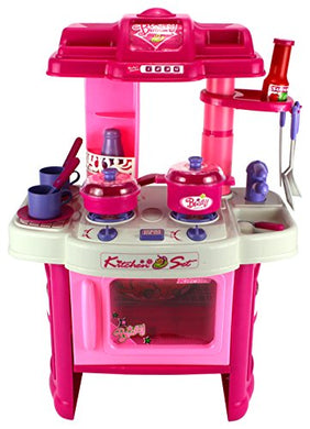 Velocity Toys Kitchen Appliance Children'S Toy Cooking Play Set W/ Lights & Sounds, Perfect For Your Little Chef
