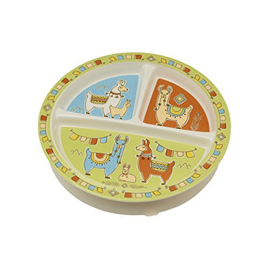 Sugarbooger Divided Suction Plate, Mama Llama