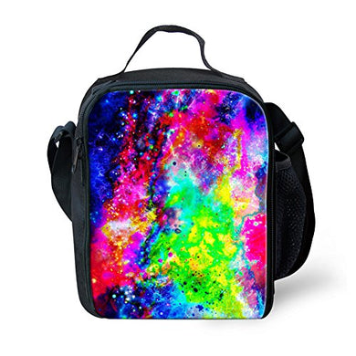 For U Designs School Office Galaxy Lunch Pouch Storage Food Bento Box For Men