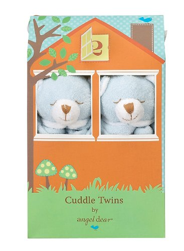 Angel Dear Blue Bear Cuddle Twin Set.