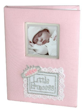 Stephan Baby Little Princess Keepsake Mini Photo Album Brag Book, Pink By Stephan Baby
