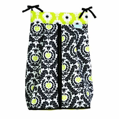 Trend Lab Waverly Rise And Shine Diaper Stacker, Black/White By Trend Lab