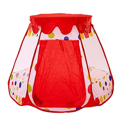 E Support Easy Fodable Cute Polka Dot Ball Pit Bulk Outdoor /Indoor Play Tent House Children Play Princess Tent Children Playing Toy