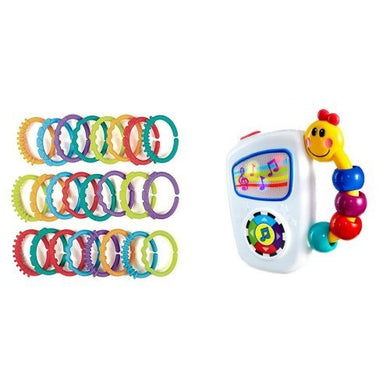 Bright Starts Lots Of Links Accessory And Baby Einstein Take Along Tunes Musical Toy