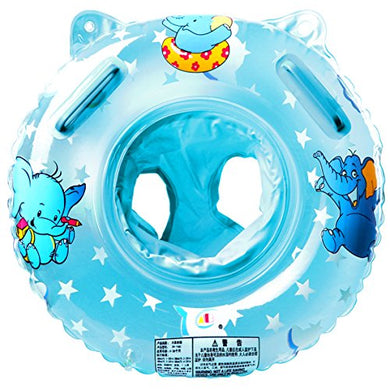 Stillcool Baby Swimming Float, Inflatable Swimming Ring With Float Seat For 6 Months-6 Years Children (Blue)
