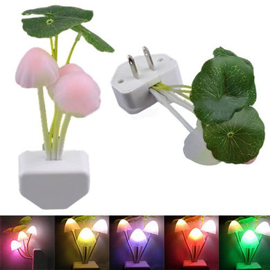 Night Lights For Kids Rooms | New Colorful Romantic Led Mushroom Dream Night Light Bed Lamp Sale Baby