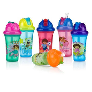 Nuby Dora The Explorer No-Spill Flip-It Cup - 9 Oz.