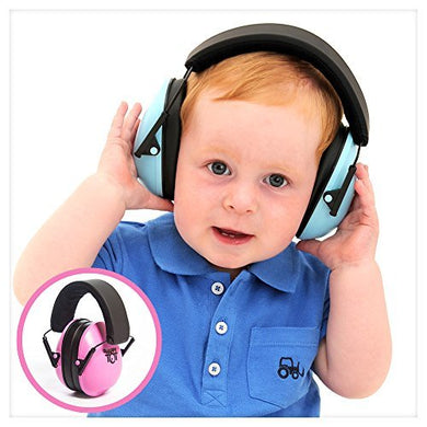 Hearing Protection Headphones. Noise Canceling For Children &Amp; Infants, Fully Adjustable For 0-12 Yrs. Low Profile Cups, Padded 'Snug Fit' Professional Earmuffs For Kids By My Happy Tot
