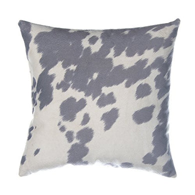 Glenna Jean Luna Cow Pillow, Grey