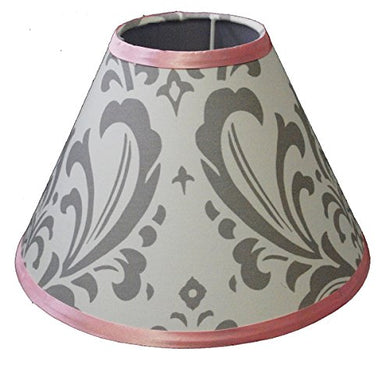 Lamp Shade For Grey Damask Baby Bedding Set By Sisi