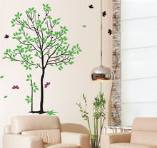 Load image into Gallery viewer, Pop Decors Removable Vinyl Art Wall Decals Mural For Nursery Room, Spring Tree