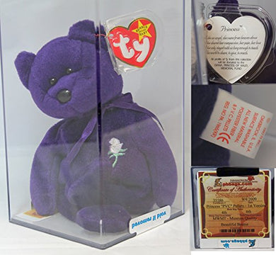 Princess Pvc Authenticated - Mwmt Mq Rare China Var. Ty Beanie Baby