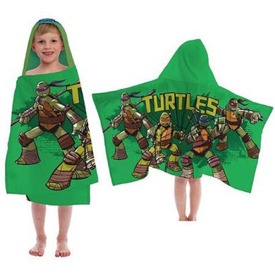 Teenage Mutant Ninja Turtles Hooded Towel, 100-Percent Cotton