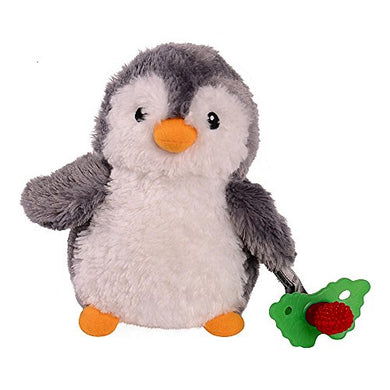 Razbaby Raz Buddy Teether And Teether Cozy - Penguin 2Pc