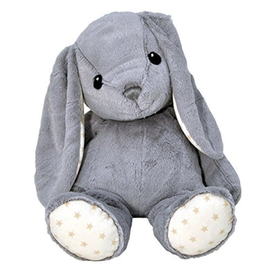 Cloud B Dreamy Hugginz Grey Bunny Plush Stuffed Animal
